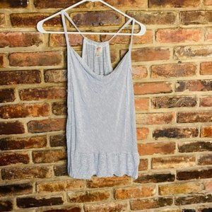♦️Mossimo Supply Co Striped Tank Top Size Large